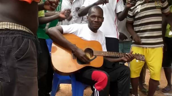 "Songs produced behind bars earn convict ""street cred"" in Burkina Faso"
