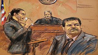 """Etats-Unis : de la prison à vie pour l'ancien baron de la drogue """"El Chapo"""""""