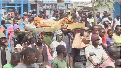 DRC: 2 dead as protesters march against insecurity in Goma