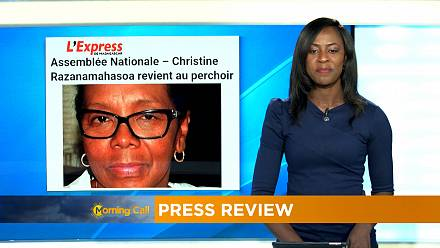 Madagascar : Christine Razanamahasoa revient au perchoir [Morning Call]