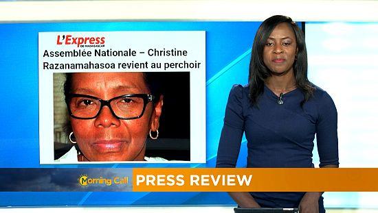 Madagascar : Christine Razanamahasoa revient au perchoir [Morning Call]
