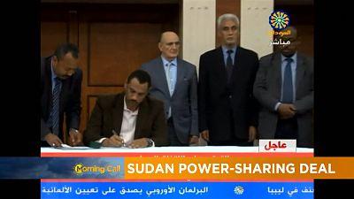 Sudan power sharing deal [The Morning Call]