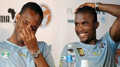 Football : Eto'o et Drogba font leur entrée officielle à la CAF