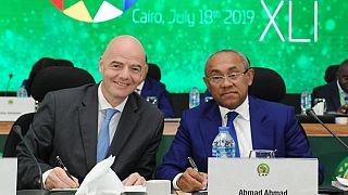 Congrès de la CAF : Infantino en Egypte, en témoin d'une instance en difficulté