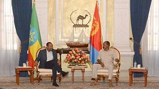 Ethiopia, Eritrea leaders meet in Asmara - a year after flight resumption