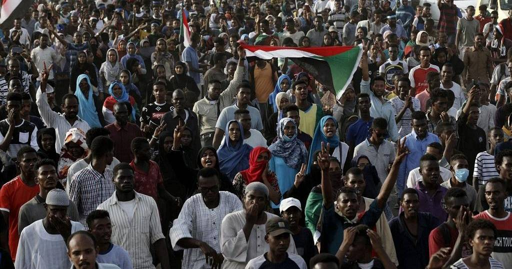 Despite power-sharing deal, Sudanese march for June 3 martyrs