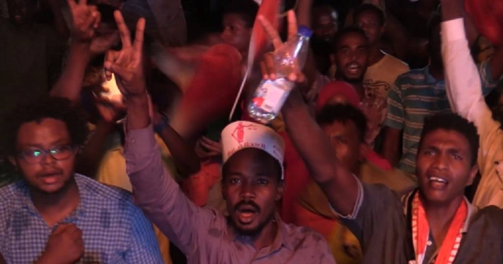 Thousands converge on the streets of Sudan to honour 'martyrs' of protests
