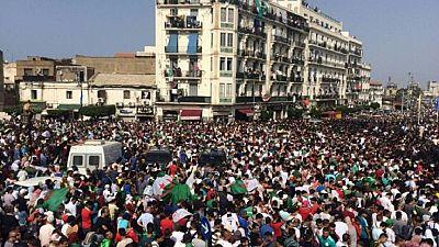 Algerian champions land home