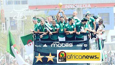 AFCON 2019 teams that got heroes return: Algeria, Senegal, Madagascar et. al.
