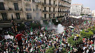22e manifestation des étudiants algériens