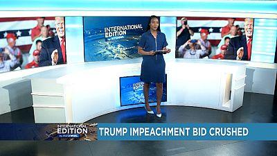 Trump impeachment bid crushed