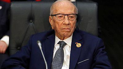 Tunisia president Béji Caïd Essebsi dies at 92: official