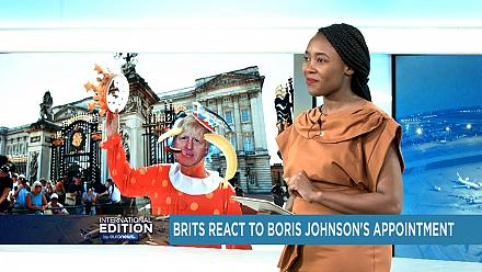 Boris Johnson nommé premier ministre britannique [International Edition]