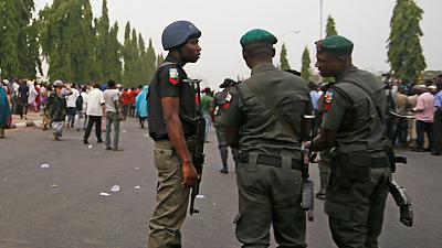 Nigeria policemen arrested for murder after #StopPoliceKilling protest