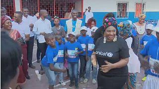 S. Africa's Yvonne Chaka Chaka advocates child empowerment