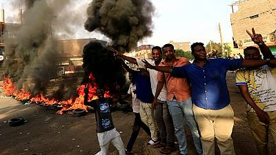 People Shot Dead during Sudan Protest