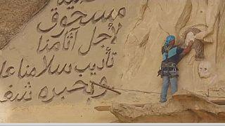 Égypte : un sculpteur au creux des collines du Caire
