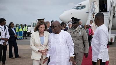 US Congressional delegation led by Nancy Pelosi visits Ghana