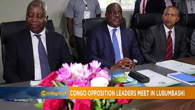 DR Congo: Opposition leaders meet in Lubumbashi [Morning Call]