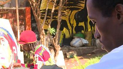 Rwanda : Un réfugié burundais crée et fait de l'art une vie