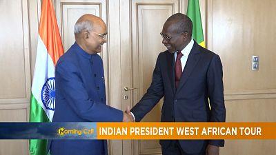 La tournée ouest-africaine du président indien [Morning Call]