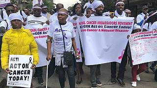 Kenyans protest to pressure government to declare cancer a national disaster