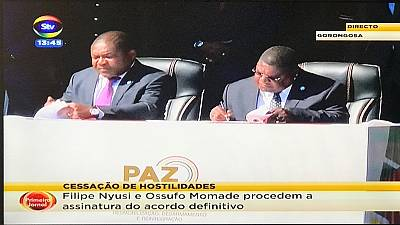 Mozambique govt, rebels sign final disarmament deal ahead of Pope's visit