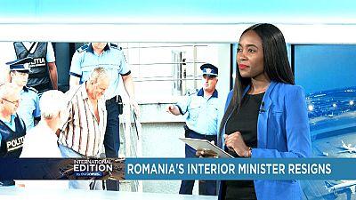Roumanie : démission du ministre de l'Intérieur [International Edition ]