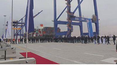 Namibia inaugurates new port terminal