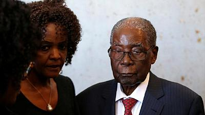 Mugabe in Singapore hospital since April - Zimbabwe prez