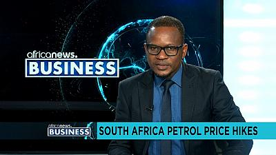 South Africa petrol price hikes