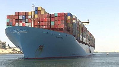 Égypte : montée en flèche des recettes du canal de Suez