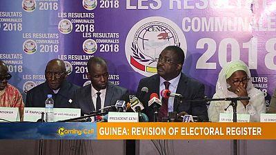 Guinée : la révision du fichier électoral fait polémique [Morning Call]