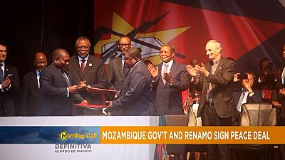 Mozambique: Renamo party and govt peace deal [The Morning Call]
