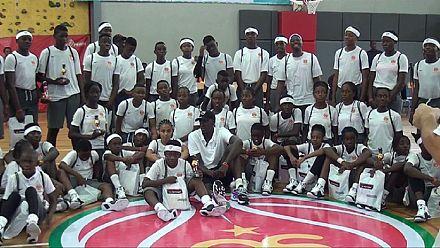 Un camp de basketball pour les moins de 16 ans à Douala