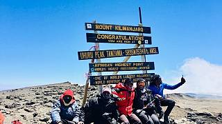 South African activists summit Kilimanjaro with Trek4Mandela
