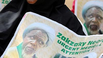 El-Zakzaky, Wife Arrive Abuja Airport For India Trip