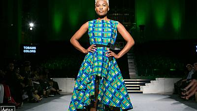 African designers showcase brands at African Fashion Week London