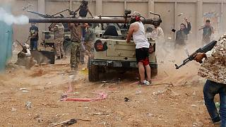 Combat around Libyan capital Tripoli resumes after Eid truce