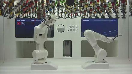 Un concours de cocktail robotisé remporté par l'homme