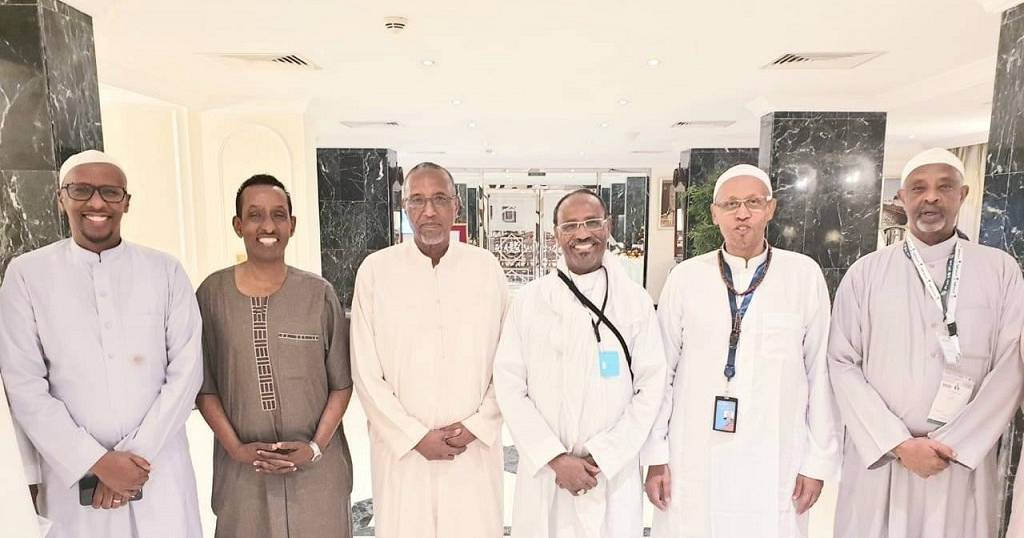 'Cordial apolitical meeting' – Somali minister on photo with Somaliland prez