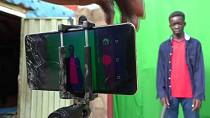 Nigerian teens make sci-fi films with smartphones