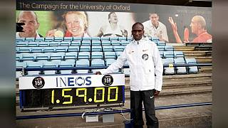 Kipchoge likens sub-two hour marathon run to moon landing