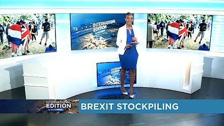 Brexit stockpiling [International Edition]