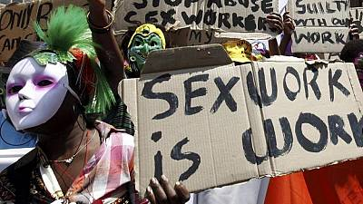 South African sex workers call on government to decriminalize trade