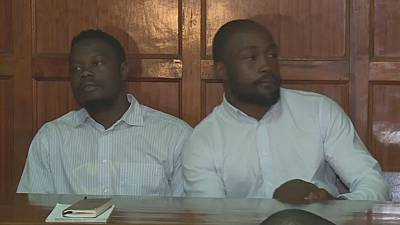 Kenyan rugby duo jailed 15 years each for gang raping singer