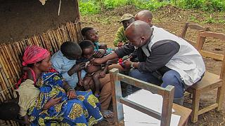 Measles claims over 2500 lives in the DRC
