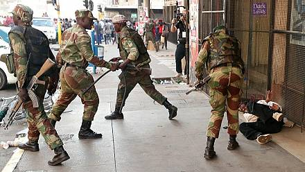 Heavy security in Zimbabwe's Bulawayo as opposition challenges protest ban