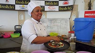 Kenyan chef hopes to cook her way to a Guinness Record