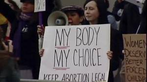 Strong feelings on abortion in San Francisco rallies